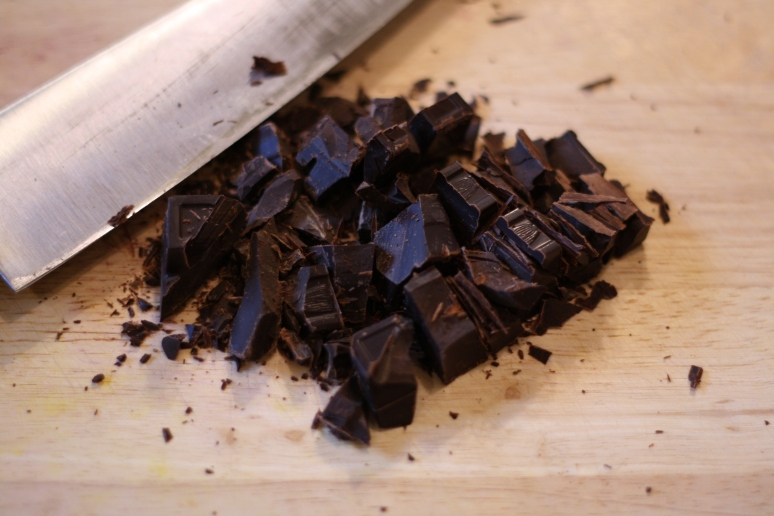 Chopped unsweetened chocolate
