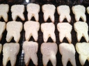 Teeth cookies