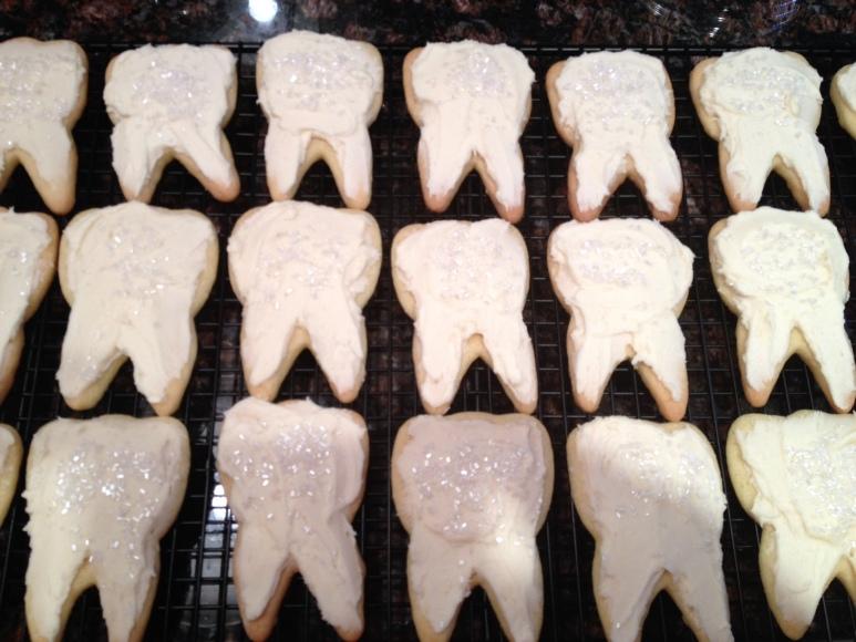Teeth cookies