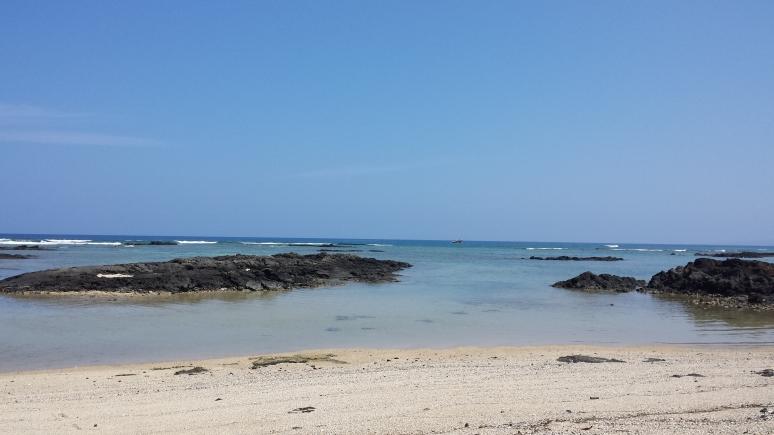 Mauna Lani beach on the Kohala Coast