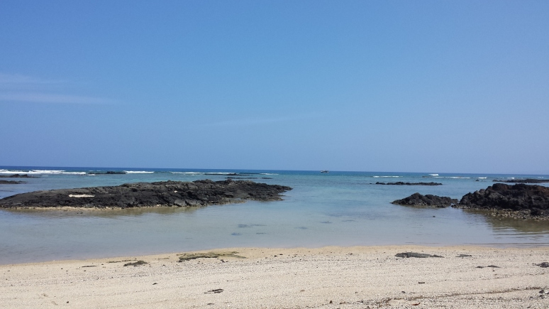 Mauna Lani beach on the Kohala Coast