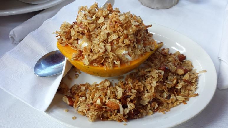 Papaya Yogurt & Granola from Island Lava Java