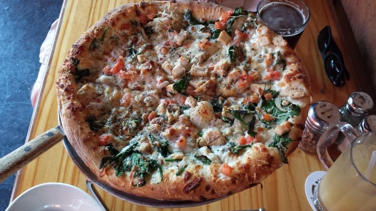 Pizza from Kona Brewing Company