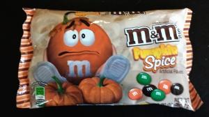 Pumpkin Spice M & M's