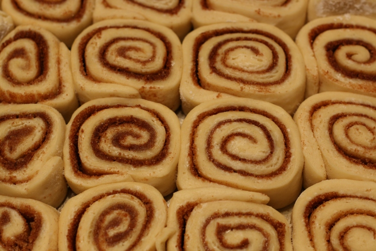 Unbaked rolls